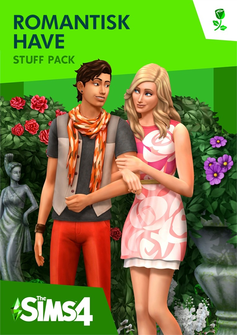The Sims 4 Romantisk haveindhold - Romantic Garden Staff  PC og Mac udgave