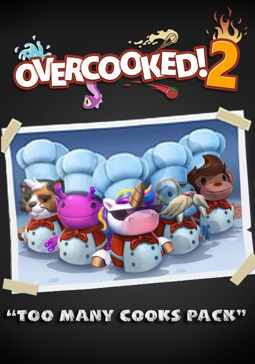 Overcooked! 2 - Too Many Cooks DLC 0