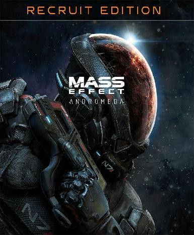 Mass Effect Andromeda - Standard Recruit Edition - PC-udgave